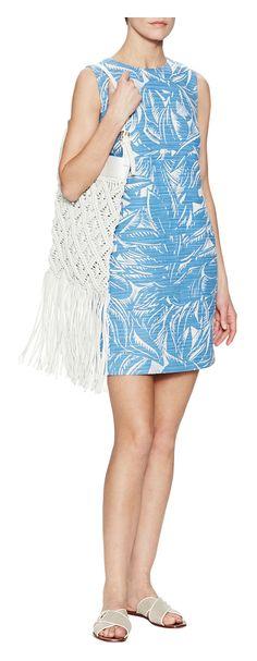 Tory Burch Corded Cotton Linen Dress - on #sale 22% off @ #Gilt  #ToryBurch