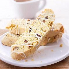 Cornmeal-Fig Biscotti