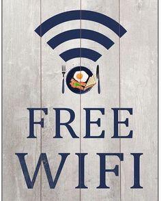 Νέες καταπληκτικές πινακίδες για Free WIFI στο http://www.keepyourhousefresh.gr/home-accesories/kadrakia.html