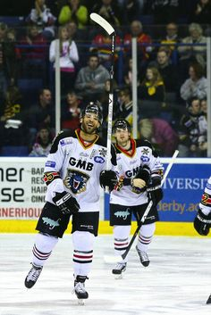 It's Clarkie on the ice. Ice Hockey Rules, Nottingham Panthers, Panthers Game, Baseball Cards, Sports, Hs Sports, Excercise, Sport, Exercise
