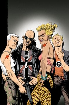 The Invisibles covert art.