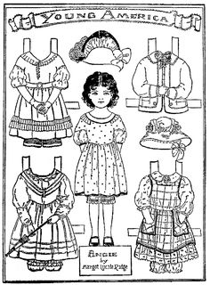 January 13, 1930 ANGIE, a very pretty paper doll by Margot Lucile Ridge.  Her paper dolls appeared in many newspapers in 1930. Paper Dolls are from a book by Margot Ridge, published in 1929.  She was a popular writer of children's books during that time.