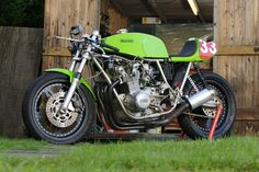 It started life as a Road going Rickman Kawasaki CR and was converted to a race bike, I think about 10 years ago. My friend Colin had seen...