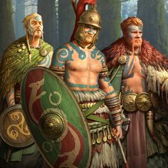images of ancient gaels Ancient Rome, Ancient History, Pictish Warrior, Vikings, Irish Mythology, Celtic Warriors, Celtic Culture, Celtic Art, Iron Age