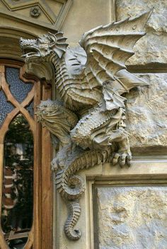 Another gorgeous dragon ornament which I think is from Torino.