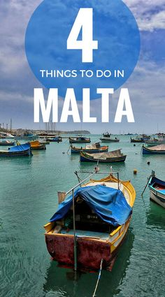 Our 4 favourite experiences in Malta: St John's Co-Cathedral, Bicycle tour, Abseiling The Cliffs In Malta and a Boat Tour. Also includes Malta lunch yum! Travel in Malta. Family Travel.