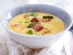 Unser beliebtes Rezept für Thai-Currysuppe mit Ingwer-Mettbällchen und mehr als 55.000 weitere kostenlose Rezepte auf LECKER.de.