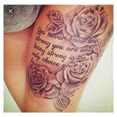 Mooie Tattoo voor op me linker kuit