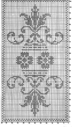 Cross Stitch Borders, Cross Stitch Rose, Cross Stitch Designs, Cross Stitching, Cross Stitch Embroidery, Embroidery Patterns, Cross Stitch Patterns, Knitting Patterns, Crochet Patterns