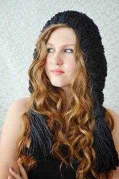 Bohemian Hand knitted hat  Beautiful Dream by irinacarmen on Etsy, $43.00