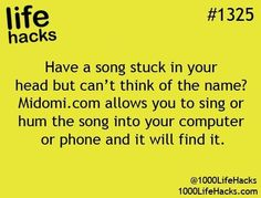 Have a song stuck in your head???
