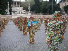 un museo.. di rifiuti!