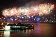 Amazing fireworks display.