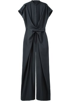 Christian Wijnants / Oulu Jumpsuit. I would rock this know doubt with gold on top of gold a bright platform with bold lips