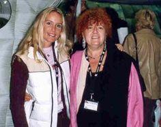Paola Meneghetti  con Eva Bakker