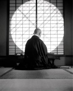 Kyoto - Temple de Gyoji, 1954 - Fosco Maraini Buddha, Beautiful Places In Japan, Mahayana Buddhism, Meditation, Sacred Architecture, Religion, Kyoto Japan, Japan Art, Japanese Culture