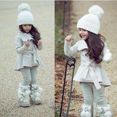 """Good morning ✨❄️ Bundled Beauty @lulu.2013 #trendy #feature #follow #shoutout #style #stylish #kidstyle #kidfashion #fashion #cute #tagsforlikes…"""