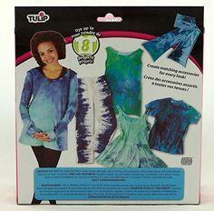Tulip Large Revamped Tie Dye Fashion Kit >>> Click image for more details.