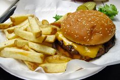 Cheese burger...it looks so delicious