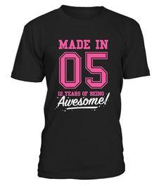 Made In 2008 Awesome Birthday Shirts - Shirts für frau mit herz (*Partner-Link) Shirts For Teens, Outfits For Teens, Teen Shirts, Girl Shirts, Fall Outfits, 14th Birthday, Girl Birthday, Funny Birthday, Teenager Birthday