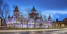 Belfast City Hall Print by Barry O Carroll Belfast City, Blue Hour, Donegal, Dublin Ireland, Barcelona Cathedral, Fine Art America, Instagram Images, Photography, Fotografie
