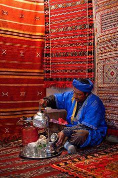Morocco - Atlas Mountains: Berber Tea