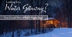 Enter for your chance to win a FREE night stay at The Inn at Honey Run!
