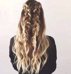 Two Braids, Three Ways - 101 Braid Ideas That Will Save Your Bad Hair Day (Photos)