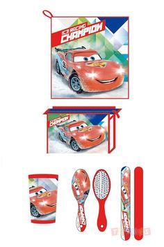 Trousse de toilette Cars Flash Mc Queen   Toluki