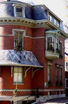 This was home of Gov. & Civil War General Ambrose Burnside along Benefit Street in Providence, Rhode Island.