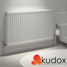 This 700mm x 400mm Compact Single Panel Convector Radiator by Kudox is sure to deliver great heat output.