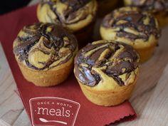 Gluten Free Dairy Free Pumpkin Nutella Muffins recipe
