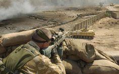 Sniper L115A3 in Iraq
