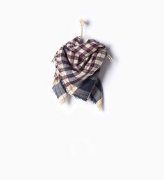 ZARA - KIDS - Check scarf