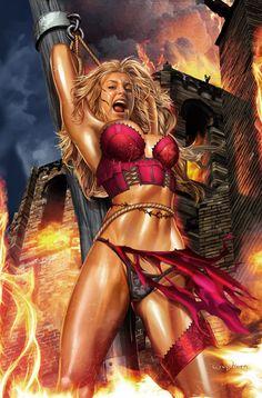 Grimm Fairy Tales Comic Series: Salem's Daughter: The Awakening