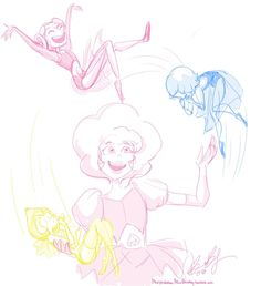 See more 'Steven Universe' images on Know Your Meme! Pink Diamond Steven Universe, Pearl Steven Universe, Steven Universe Funny, Cartoon Network, Lapis Lazuli, Universe Images, Universe Art, Manga Anime, Fanart