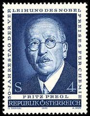 Stamp: Pregl, Fritz scientist, chemist, nobelprize (Austria) (Pregl, Fritz) Mi:AT 1462 Austria, Nobel Prize Winners, Heart Of Europe, Fritz, Chat Board, Stamp Collecting, Postage Stamps, Famous People, The Incredibles