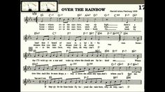 Over The Rainbow playalong for Cornet Trumpet Vocal or any Bb instrument...