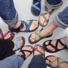 Chacos!.......love the socks