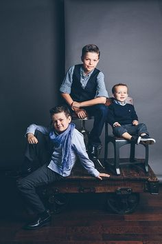 Brothers Three / photo by Candice Stringham Photography