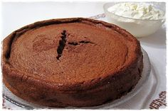 LCHF - chocolate mud cake  (swedish recipe) --- I wouldn't call this a mud cake, it is more of a sticky cheesecake.