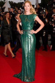 Cannes 2012 - Doutzen Kroes in an Elie Saab autumn/winter 2012-13