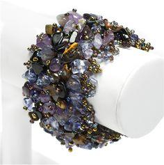 #Beaded #Gemstone #Bracelet Paris #jewelry