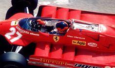 Villeneuve Ferrari Long Beach 1981