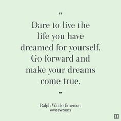 #WiseWords from Ralph Waldo Emerson