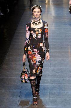 Dolce & Gabbana at Milan Fall 2012