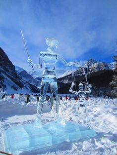 Ice Sculptures in Banff National Park – Ice Magic Festival 2013 ...