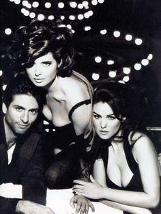 Dolce Gabbana Spring 1992 - Isabella Rossellini and Monica Bellucci - Steven Meisel