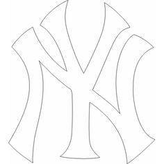 Baseball coloring pages major league baseball mlb for Ny yankees coloring pages
