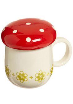 @Vynessa Hodges toadstool mug with cover